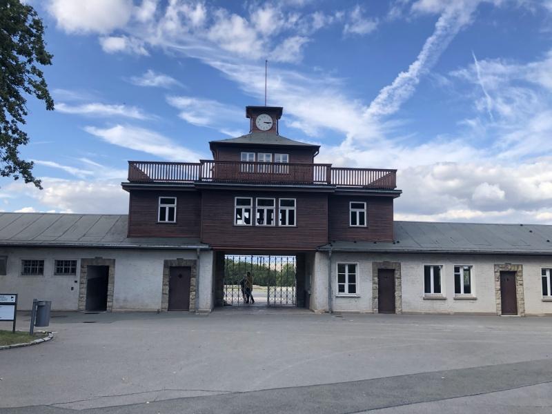 Eingangstor zum KZ Buchenwald
