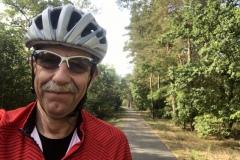 Der Autor freut sich über den schönen Radweg nördlich von Wittenberg