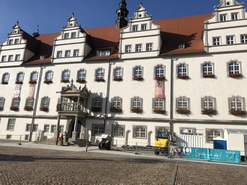 Rathaus von Wittenberg  Fotos: Link
