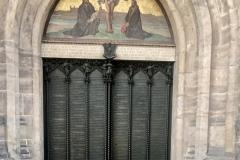 Das 95-Thesen-Portal der Schlosskirche von Wittenberg